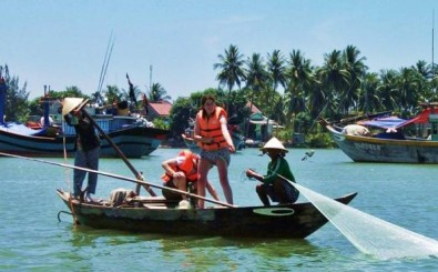 One Day Learning Fishing, Farming And Cycling in Hoian