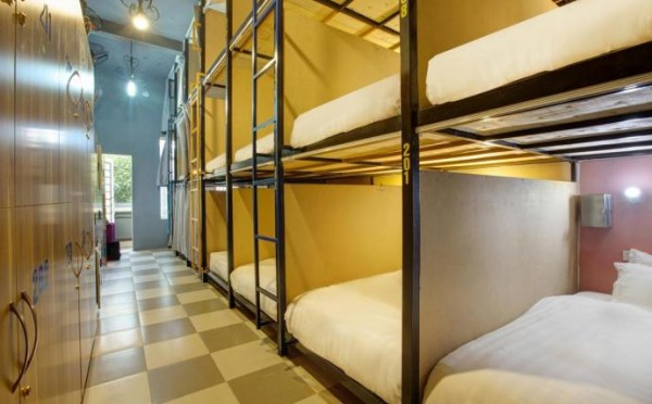 Bed in 6 Beds - Male Dormitory Room