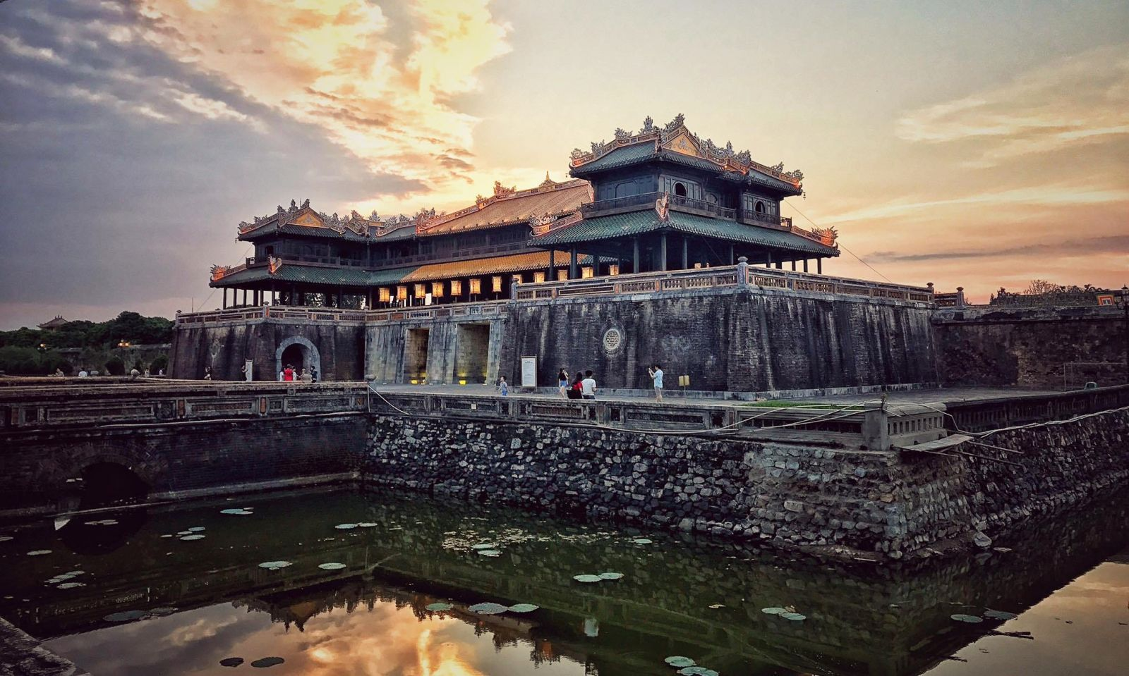 The Magnificent Imperial City in Hue