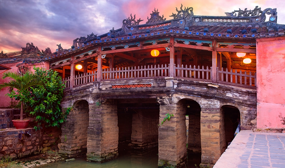 Japanese Covered Bridge in Hoian
