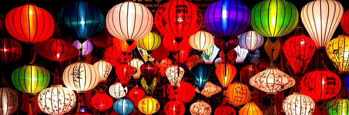 Lanterns of Hoian Ancient Town