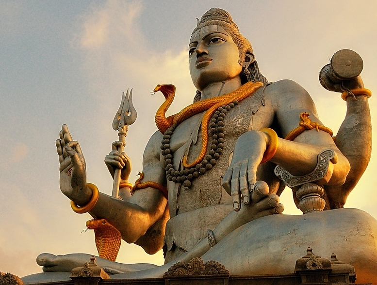 A Statue of Shiva in Murudeshwar